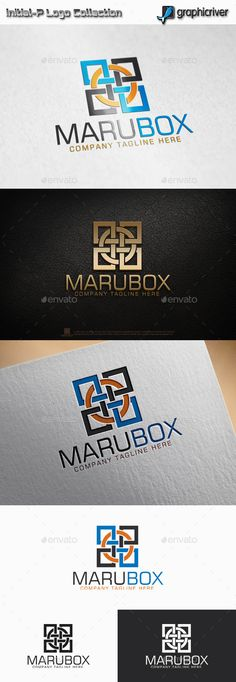 Maru Box - Circle Square logo: Abstract Logo Design Template created by initial-P. Circle Logo Design, Circle Logos, Logo Design Template, Logo Templates, Graphic Design, Square Logo, Print Fonts, Abstract Logo, Logo Concept