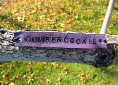 Cumbercookie Violet BBC Benedict Cumberbatch Sherlock Fandom Inspired Tie Up Leather ID Bracelet on Etsy, $8.00 CAD