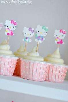 Hello Kitty Birthday Party via Kara's Party Ideas Ideas -www.KarasPartyIdeas.com-shop-79