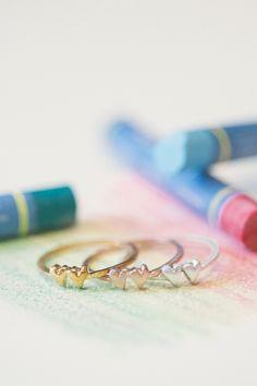 sweet love ring - two hearts | Lisa Leonard Designs