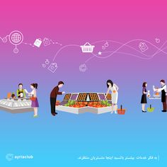 💳 به فکر خدمات  بیشتر باشید اینجا مشتریان منتظرند.    @ayriaclub  www.myayria.com