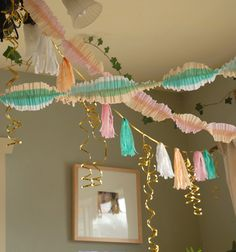Colors and ruffled streamer how-to
