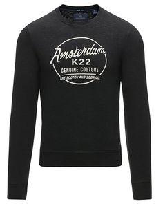 Super lækre Scotch & Soda sweatshirt Scotch & Soda Sweatshirts til Herrer i fantastisk kvalitet
