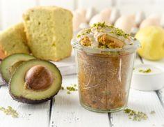 Avocado-Zitronenkuchen im Glas Rezept - cakedesserts. Mug Cakes, Cookie Pie, Lorem Ipsum, Baked Goods, Latte, Sweet Tooth, Sweets, Baking, Desserts