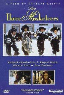 The Three Musketeers - Interesting version. Watch out for an absolutely evil Milady played by Faye Dunaway.