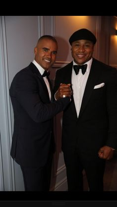 Shemar Moore and L L Cool J