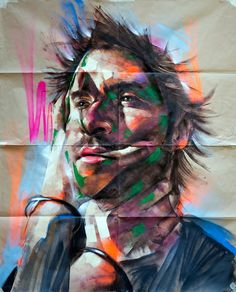 PAPER PORTRAITS_Rems182 / Painting on Behance