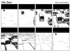 """The bus"", una tira cómica que mezcla a Dalí con Borges, Escher y The Twilight Zone"