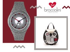 Orologio #Braccialini. #BiancoeNero #TuaCollection #Watches #madeinItaly