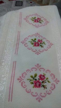 The most beautiful cross-stitch pattern - Knitting, Crochet Love Cross Stitch Letters, Cross Stitch Rose, Cross Stitch Borders, Cross Stitch Samplers, Modern Cross Stitch, Cross Stitch Flowers, Cross Stitch Designs, Cross Stitching, Cross Stitch Embroidery