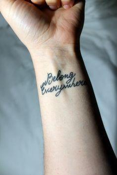 """""""Belong Everywhere"""""""