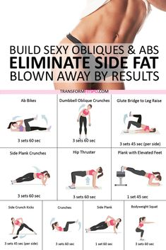 Fitness Workouts, Easy Workouts, Fitness Tips, Health Fitness, Side Workouts, Easy Ab Workout, Fitness Memes, Fitness Motivation, Planet Fitness
