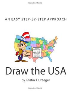 Draw the USA by Kristin J. Draeger - Fabulous method to use in class or at home! Us Geography, Teaching Geography, 5th Grade Social Studies, Teaching Social Studies, Teaching Us History, History Class, Cc Cycle 3, States And Capitals, Class Projects