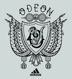 Adidas Battle Run Boost Tattoo Tatouage Running Sneakers Franck Pellegrino Course Paris Bastille République Bleunoirtattoo défi graffiti illustration blason