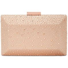 Designer Clothes, Shoes & Bags for Women Peach Gown, Pink Clutch, Peach Orange, Pink Handbags, You're Beautiful, Evening Bags, Rose Gold, Beige, Purses