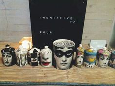 Fornasetti candles * Deco Findings * The Inner Interiorista