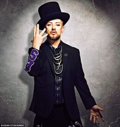 'I think life is about growing into yourself and getting to like that person. I don't know what the switch is from being insane to sane. It could be a number of things, what I eat, drink,' said Boy George