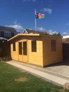Garden Room - Summer House, made to customer's design by Davies Timber Wales Ltd