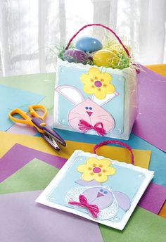 Craft ideas and projects for every skill level, every medium and every occasion. Easter Snacks, Easter Brunch, Easter Treats, Easter Recipes, Snack Bags, Treat Bags, Basket Crafts, Easter Baskets, Paper Crafting