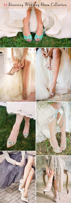 35 stunning wedding shoes collection