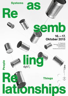 Reassembling Relationships: People, Systems, Things12th Annual Conference of the German Society for Design Theory and Research (DGTF)University of Applied Sciences Potsdam, 16/17 October 2015