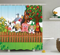 24 Best Kids Shower Curtains Decor Images On Pinterest In 2018