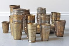 Manyara Home :: Decorative :: Brass Lassi Cup