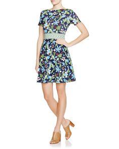 Tory Burch Floral Paisley Cotton Dress