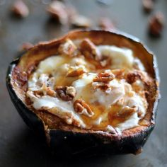 Give your breakfast a dose of fall flavor with this baked acorn squash recipe.