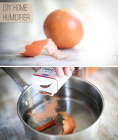 DIY Home Humidifier Using Grapefruit Cinnamon - Smells Amazing! Natural Air Freshener, House Smells, Diy Cleaning Products, Cleaning Hacks, Do It Yourself Home, Smell Good, Home Remedies, Natural Remedies, Health Remedies