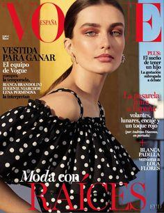 Andreea Diaconu, Vogue Magazine [Spain] (March 2017)
