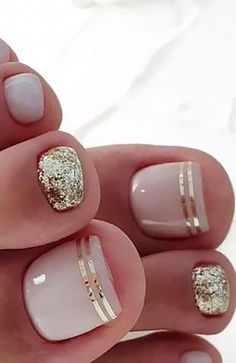 20 Trendy Winter Nail Colors & Design Ideas for 2019 - The .- 20 trendige Winter-Nagelfarben & Design-Ideen für 2019 – TheTrendSpotter – ★ Nail Art 20 Trendy Winter Nail Colors & Design Ideas for 2019 TheTrendSpotter Nail Art - Pretty Toe Nails, Cute Toe Nails, Toe Nail Art, My Nails, Acrylic Nails, Coffin Nails, Gel Toe Nails, Pretty Toes, Gel Toes
