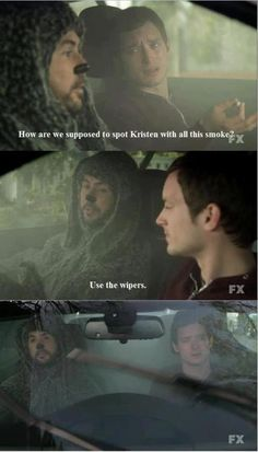 LMAO!  Wilfred:  Best show ever.