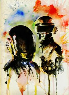 daft punk, likely to affect my music choice as well, depending on the story line...