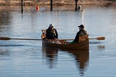 Adirondack Guide Boat Pictures | Guillemot Kayaks - Small Wooden Boat Designs