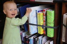Innertubes Hold the Books in Place