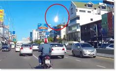 Thailand - Huge fireball from space witnessed explosions on September 7, 2015