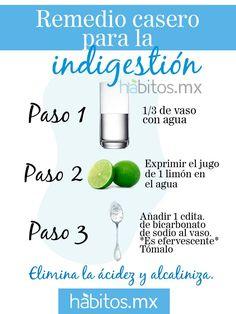 Remedio casero para la indigestión #hábitosmx #hábitos #salud #health