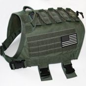 ForceK9 Introduces the TACVest (Tactical Sport) K9 MOLLE vest