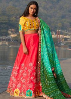#red #embroidery #lehenga #choli #dupatta #indianwear #traditional #outfit #beautiful #bride #new #designer #collection #ootd #wedding #time #womenswear #online #shopping