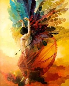 Just be a rainbow woman,full of the Colors of your heart