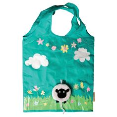 Buy Foldable Shopping Bag - Sheep online and save! Foldable Shopping Bag – Sheep Be ecofriendly with this sweet Sheep Foldable Shopping Bag! Coming in a sheep case with a little handy clip attachable . Jute Shopping Bags, Reusable Shopping Bags, Reusable Tote Bags, Quirky Gifts, Cute Gifts, Shopping Bag Design, Sass & Belle, Cute Sheep, Jute Bags