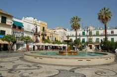 San Lucar de Barrameda, Spain. Another small town near Rota. We got to know them all.
