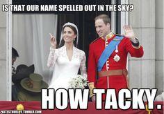 Kate and Wills - Haha!! :)