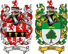 Murphy Coat of Arms / Irish Family Crest