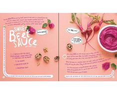 This new illustrated plant-based cookbook for kids is a wellness-minded mama's dream come true. Bond in the kitchen while teaching them how to eat well. Cookbook Template, Cookbook Design, Kids Cookbook, Recipe Book Design, Cookbook Ideas, Illustration Plate, Food Illustrations, Layout Design, Print Design