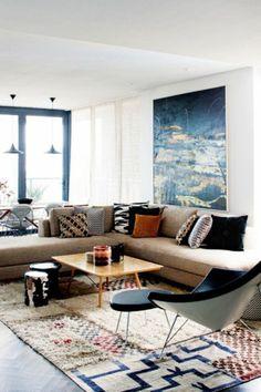 Wohnzimmer Farblich Gestalten: 71 Wohnideen Mit Der Farbe Blau | Wohnzimmer  Ideen U0026 Inspiration | Pinterest