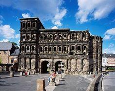 Roman ruins, Porta Nigra, Trier, Trier, Germany