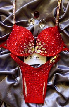 KATA Stage Apparel — ODELIA Bikini/Figure/Physique competition suit NPC IFBB WBFF UKBFF WBPF NABBA