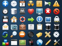 This Free Icon Pack is for use in your personal and commercial projects, and can be used without attribution,Each icon comes in transparent .png format in 64x64px, 48x48px, and 32x32px, arrow icons, calendar icons, chart icons, chat icons, computer icons, document icons, download icons, pencil icons,